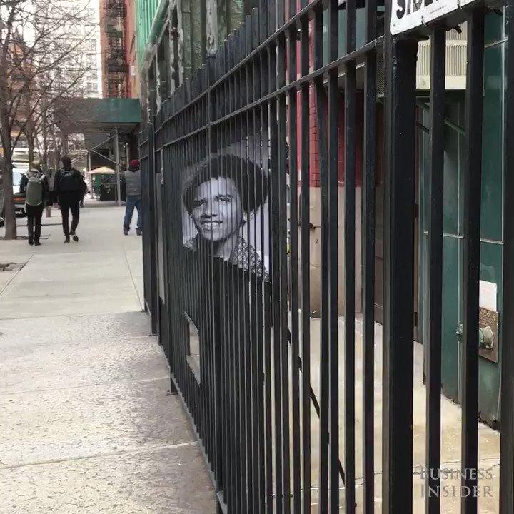 This hidden street art shows the remarka...