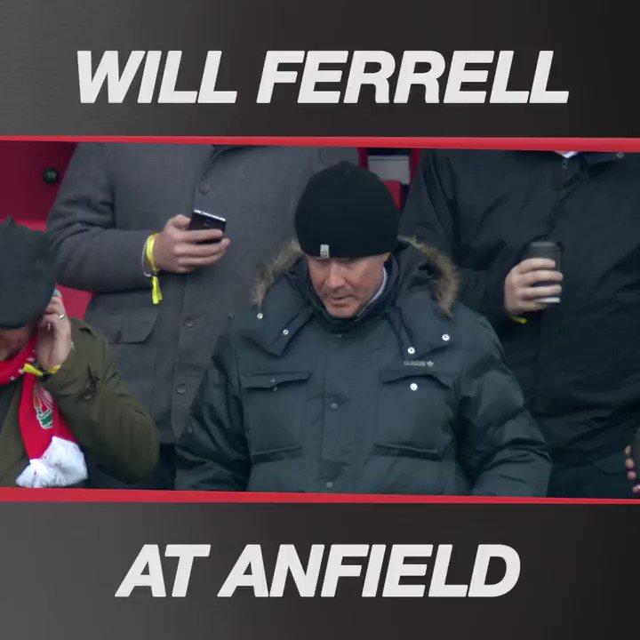 Will Ferrell - not your everyday visitor! 👌  #LIVSWA https://t.co/RbXs...