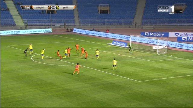 فيديو.. هدف النصر الأول في مرمى الفيحاء عن طريق 'خالد الغامدي' #النصر_...