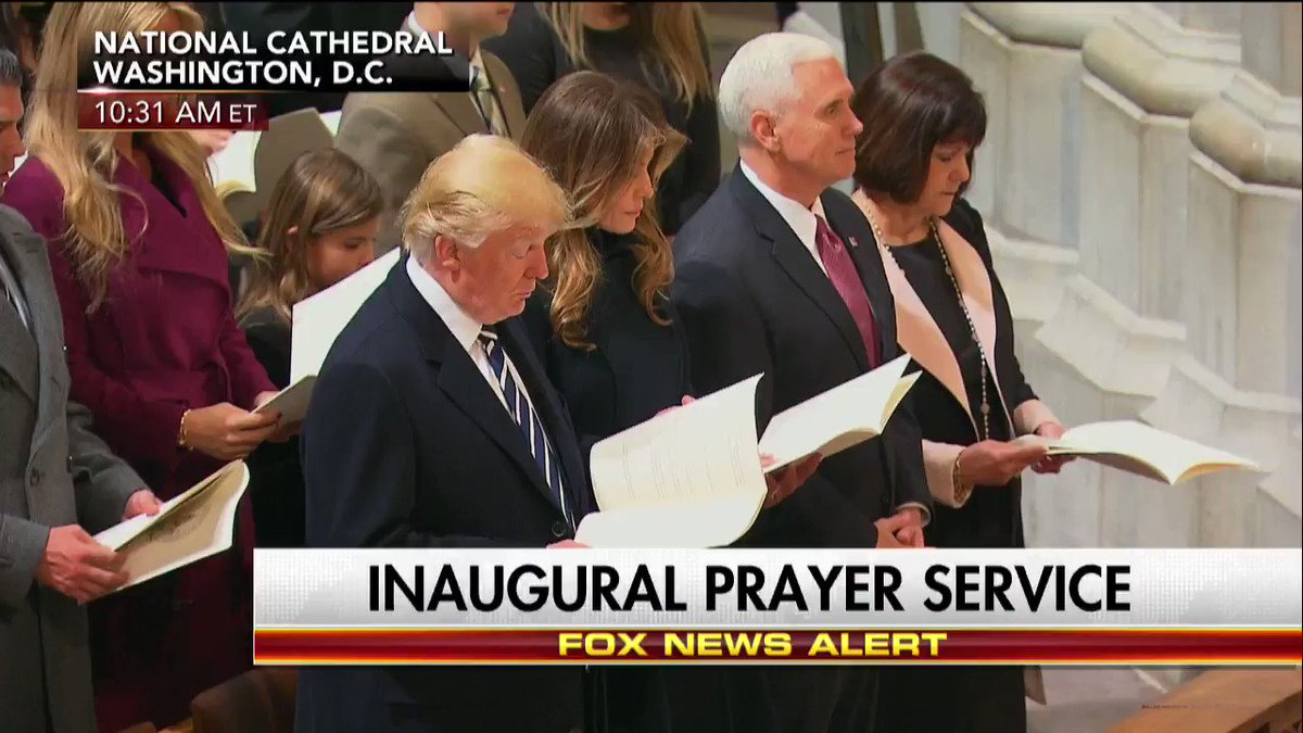 'My Country, 'Tis of Thee' at the National Prayer Service. https://t.c...