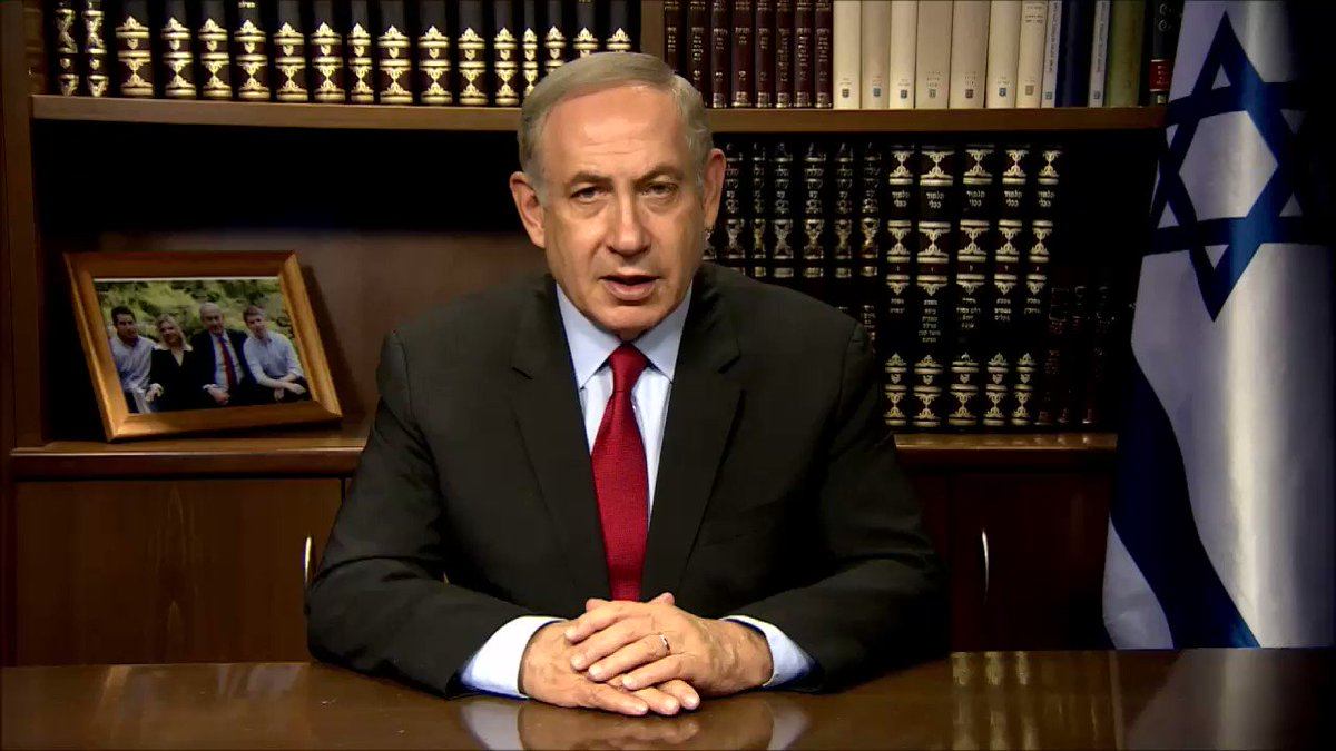 Prime Minister Benjamin Netanyahu in a message to the Iranian people:  We are your friend, not your enemy