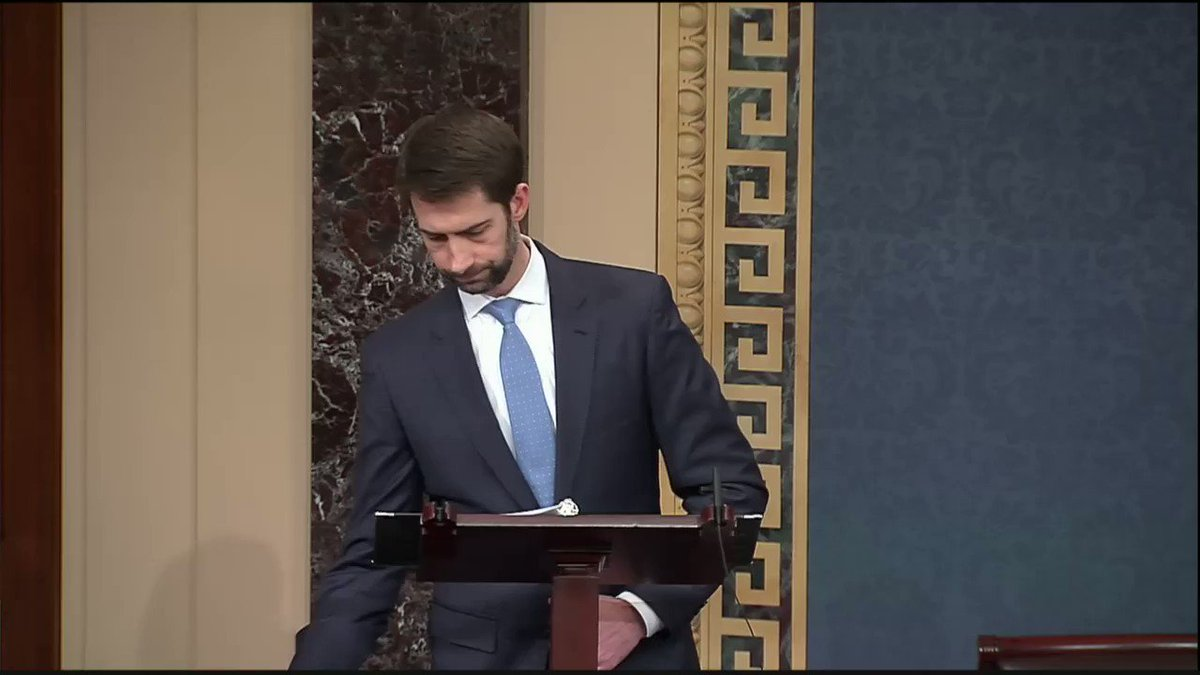 ICYMI - I spoke on the Senate floor in support of CIA Director nominee...