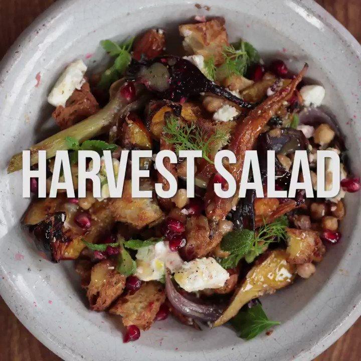 jamie oliver on twitter gorgeous veggies with a wonderful dressing this harvest salad has got. Black Bedroom Furniture Sets. Home Design Ideas