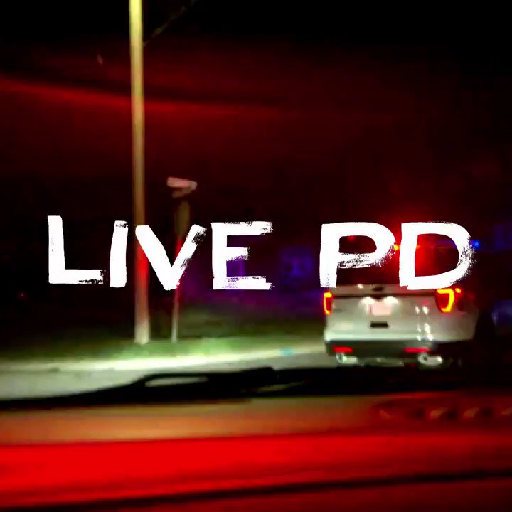3 hours of #LivePD start NOW! https://t.co/A1KsLuoxfd