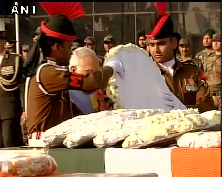 Video: PM Modi pays tribute to security personnel who lost their lives in encounters with fighters in J&K