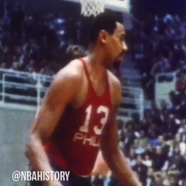 @NBAHistory's photo on Wilt Chamberlain