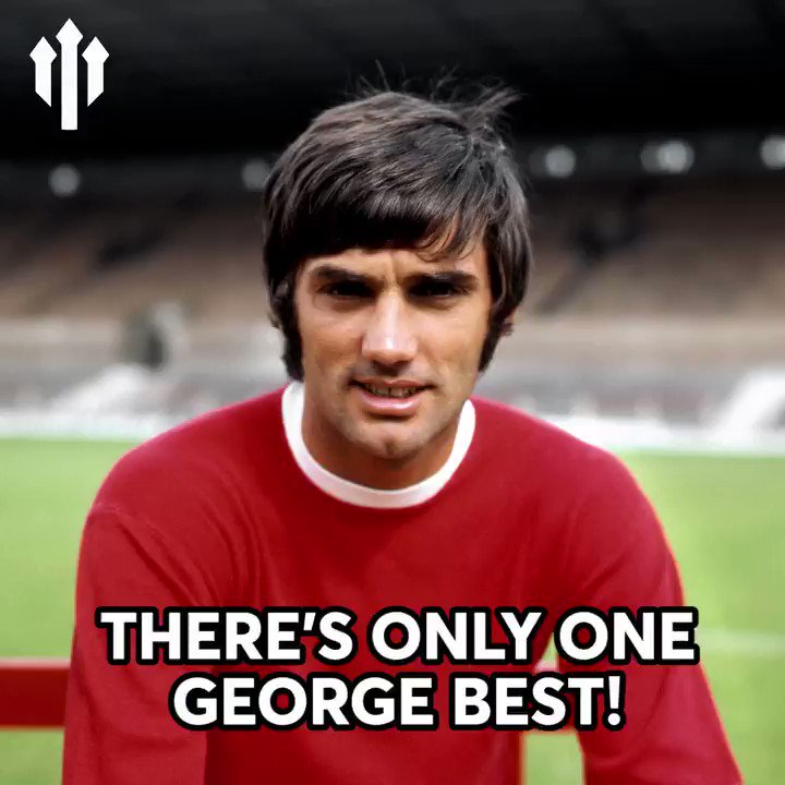 Happy Birthday, to one of the greatest of all time, George Best!