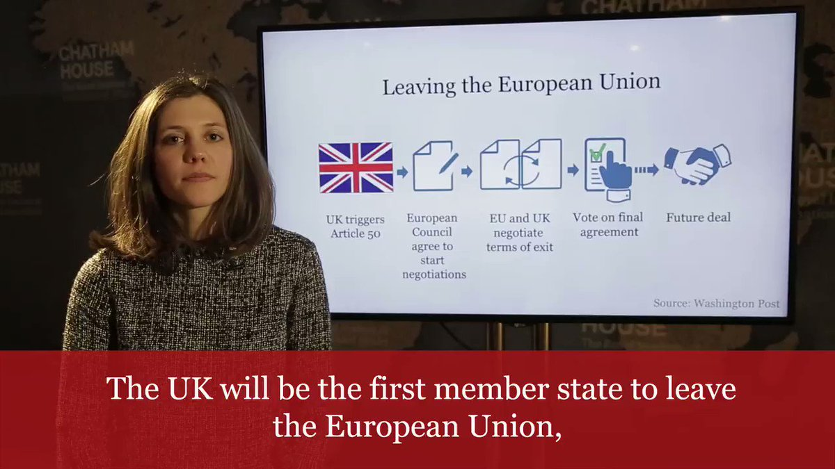 The process of leaving the EU  Georgina Wright explains Article 50  #B...