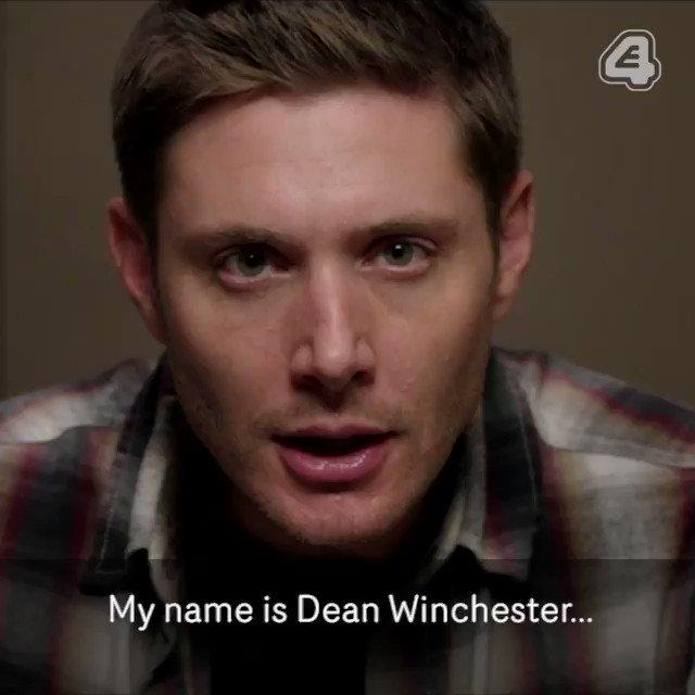 Dean Winchester: Worst YouTuber ever. #Supernatural #SupernaturalUK @J...