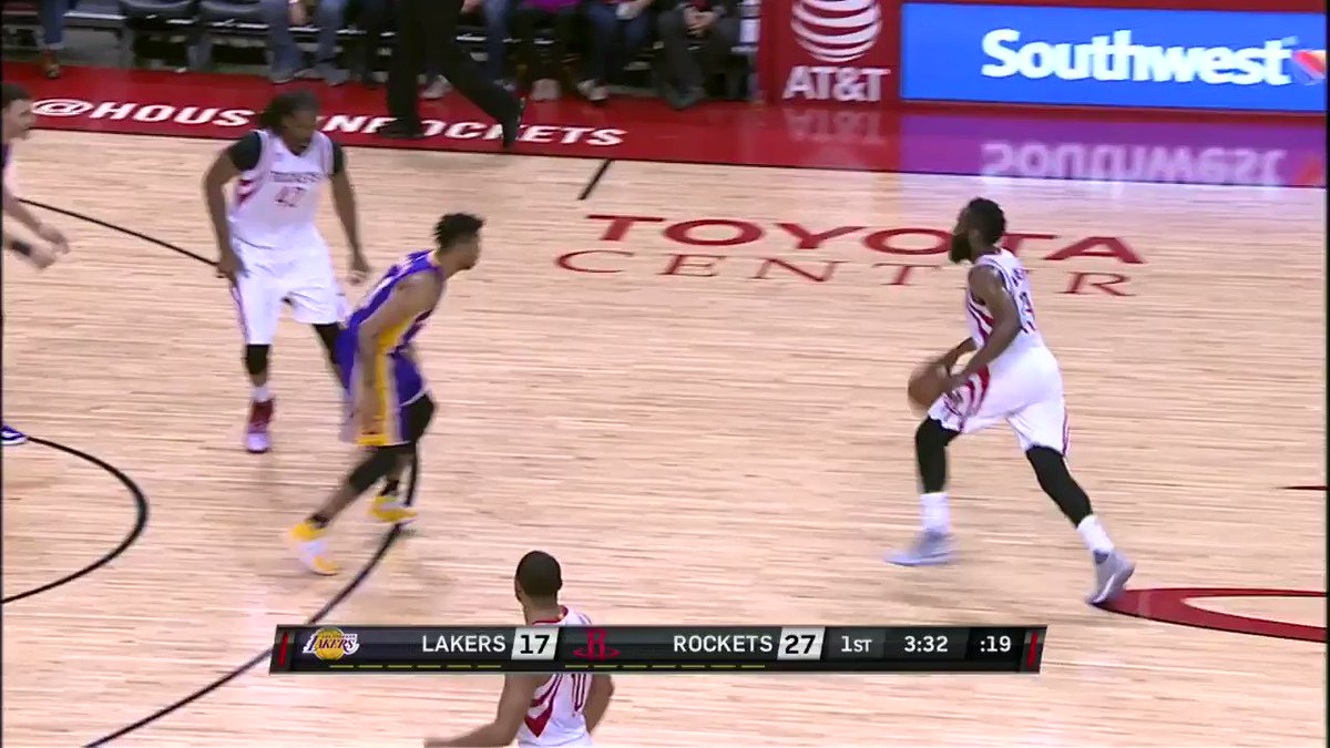 The sweet behind the back pass from D'Angelo gets the # ...