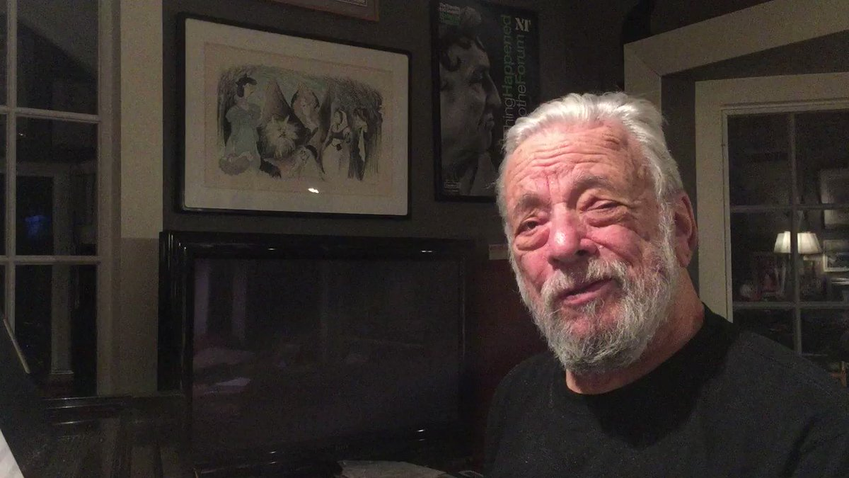 Happy 90th Birthday John Kander, from Stephen Sondheim! #CelebrateKander https://t.co/4XNB7JK3Fp