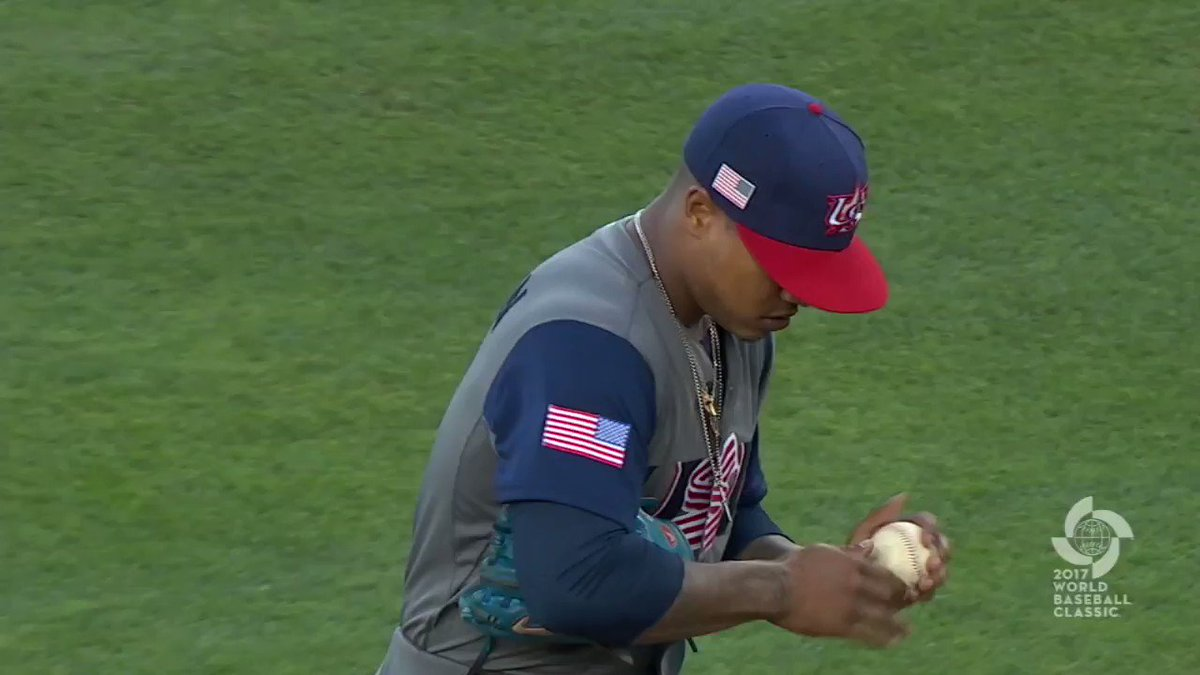 WHAT. AN. OUTING.  @MStrooo6 dazzles on the #WBC2017 stage. https://t....