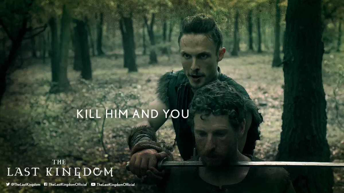 'Told you' - Halig knows Uhtred's got his back. #TheLastKingdom https:...