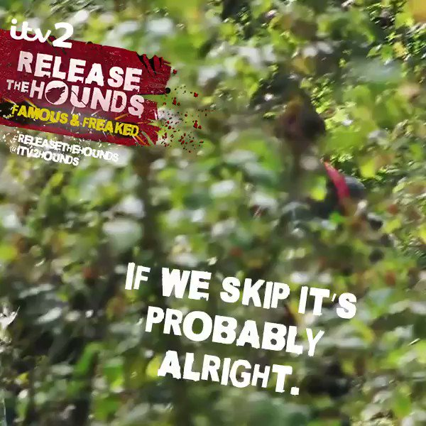 Skip, leap, jump or run, we can still see you! 👀 mwahaha #ReleaseTheHo...