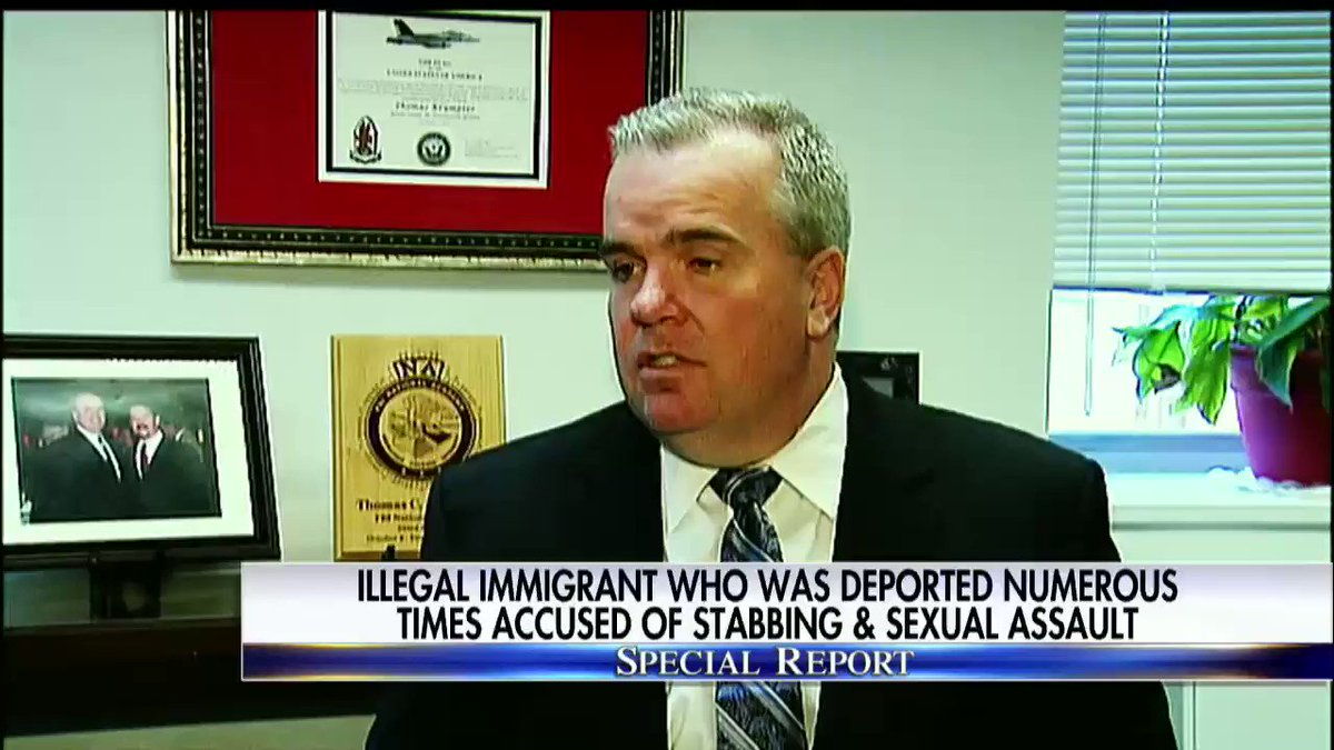 Illegal immigrant who was deported numerous times accused of stabbing and sexual assault. #SpecialReport