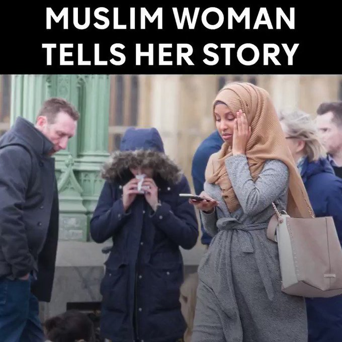This Muslim woman fought back after being falsely criticised for her response to the Westminster terror attack.