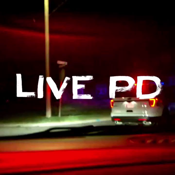 Making Saturday night plans has never been so easy. #LivePD starts NOW...