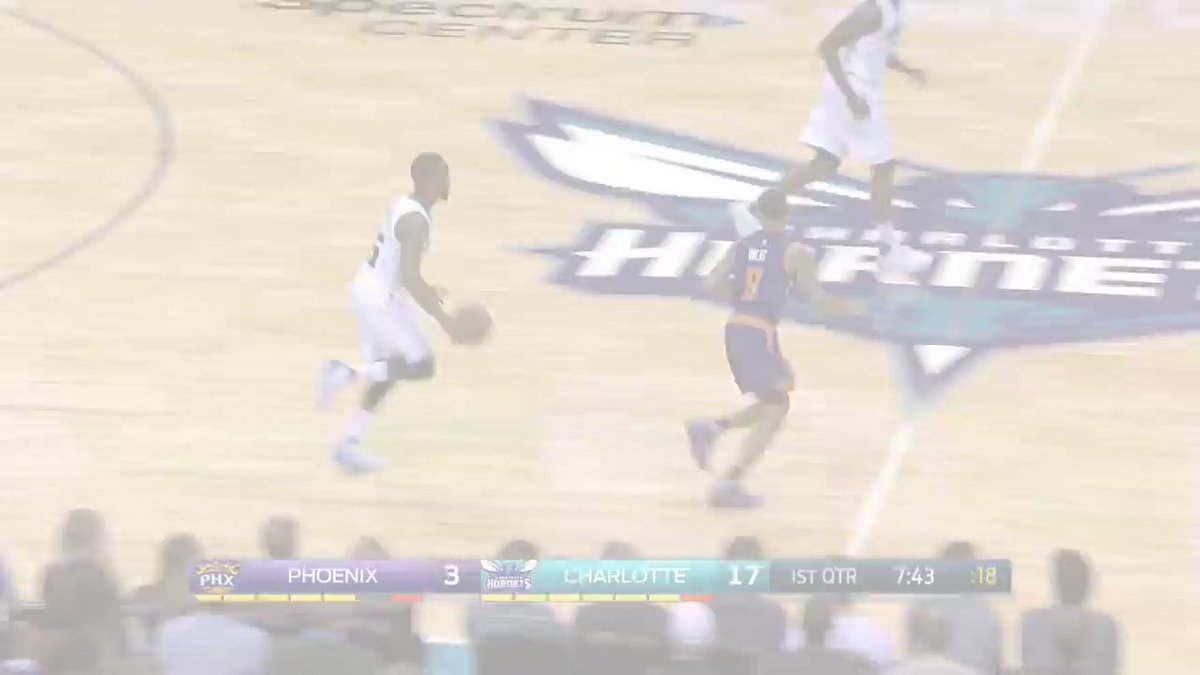 Kemba Walker scores 31 and dishes 9 assists to lead the @Hornets at ho...