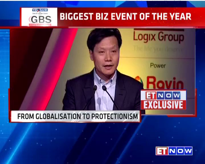 .@leijun speaks at the @ET_GBS 2017. Listen in: #ETGBS https://t.co/bF...
