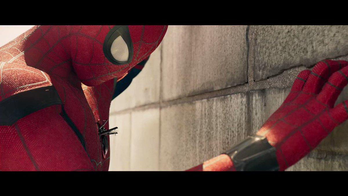 ¡Preparados para el lanzamiento! El nuevo tráiler de #SpiderManLaPeli...