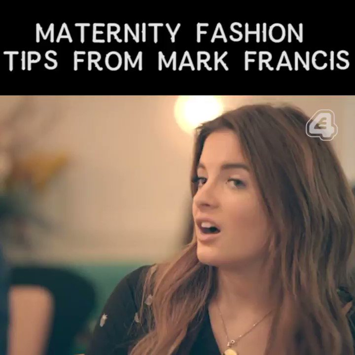 So when can we expect @MarkVandelli's maternity range to launch? @Bink...