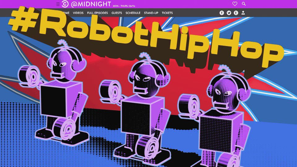 Beep boop beep boop. Puns programming. Initiating #RobotHipHop. https:...