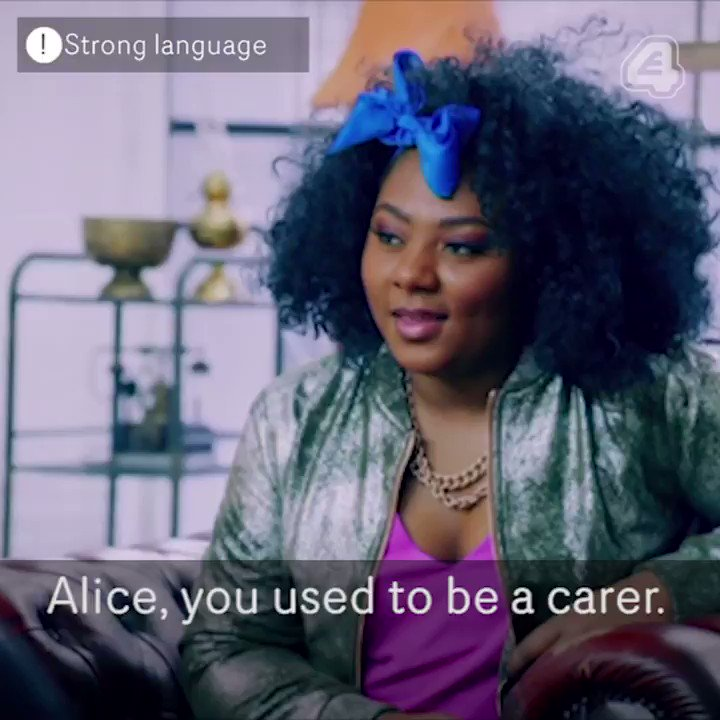 When your CV includes the words 'Weener Cleaner'… #TattooFixers @Alice...