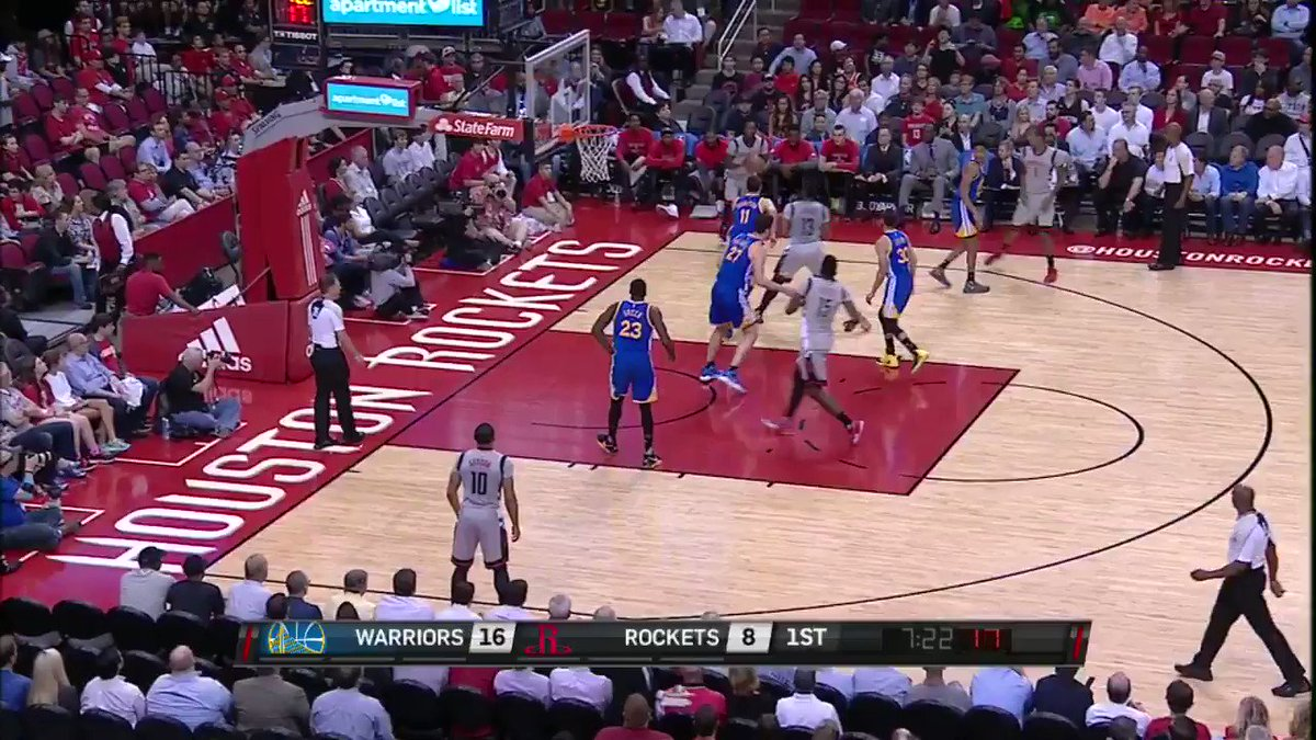 Eric Gordon pours in his first 3 of the game on @NBATV! https://t.co/8...
