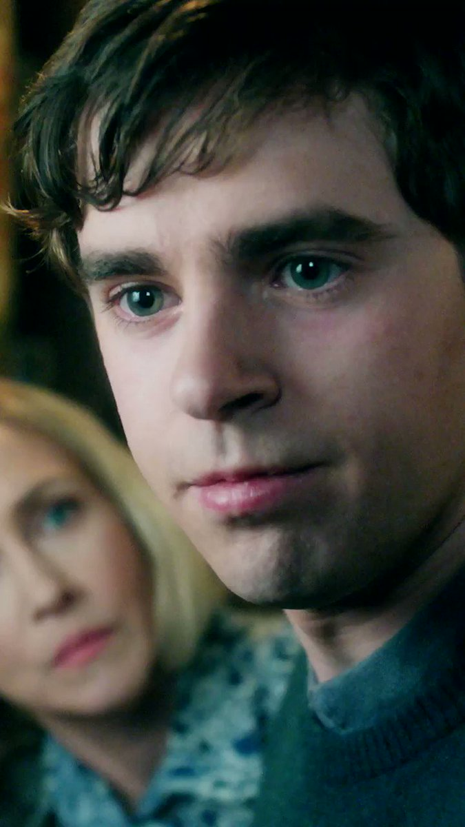 Look me in the eye when I'm talking to you! #BatesMotel