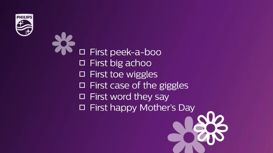 "Because LO can't claim all the ""firsts,"" tag an #AventMom who's celebrating her first #MothersDay this year!"