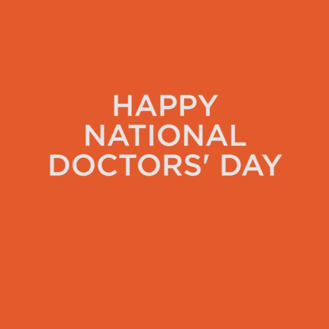 RT and help us wish a happy #NationalDoctorsDay our amazing team here...