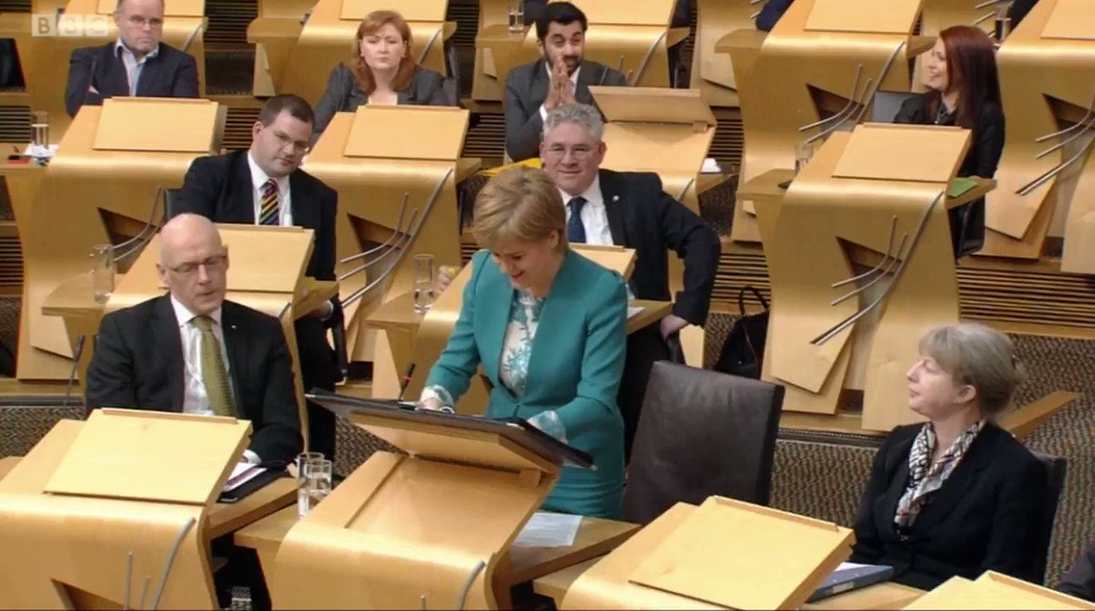 .@NicolaSturgeon on what getting on with the day job really means (inc...