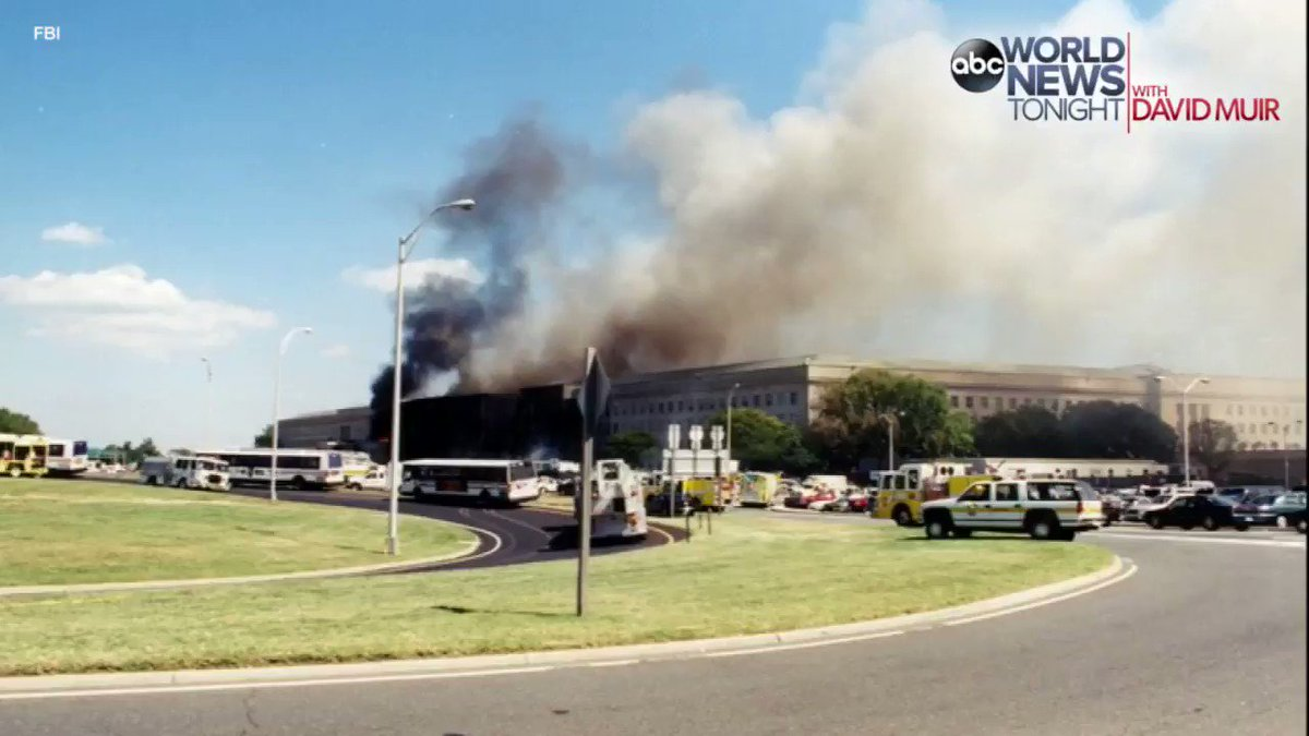 The FBI released dozens of archival images from the 9/11 attack on the Pentagon https://t.co/Cca82mKJVo