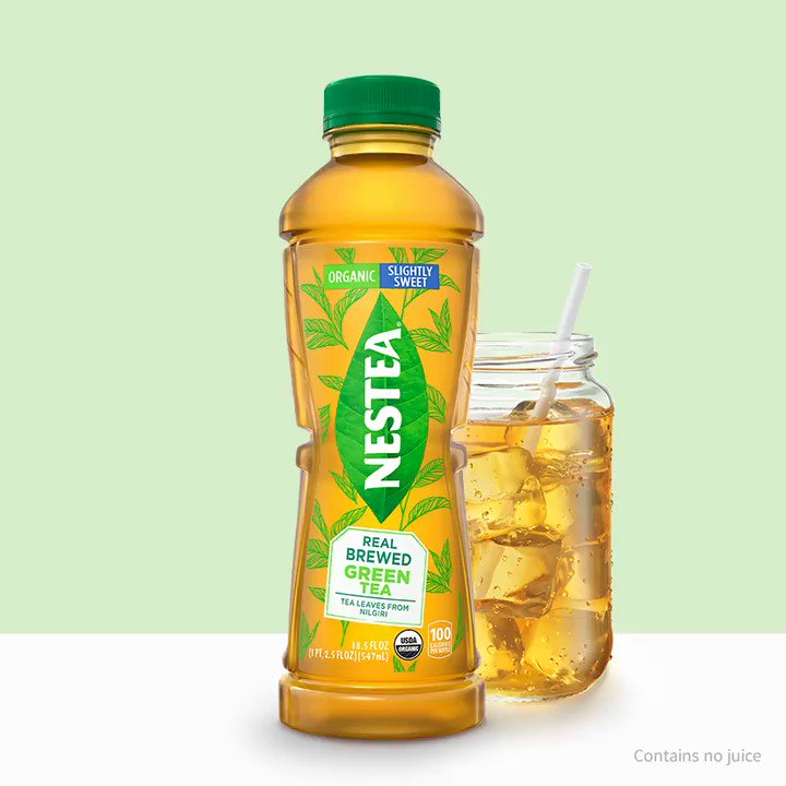 Our real-brewed Green Tea is as refreshing as it is delicious. Discover all the #NewNESTEA flavors at https://t.co/4AVgVsivHe https://t.co/pMnspig0xU
