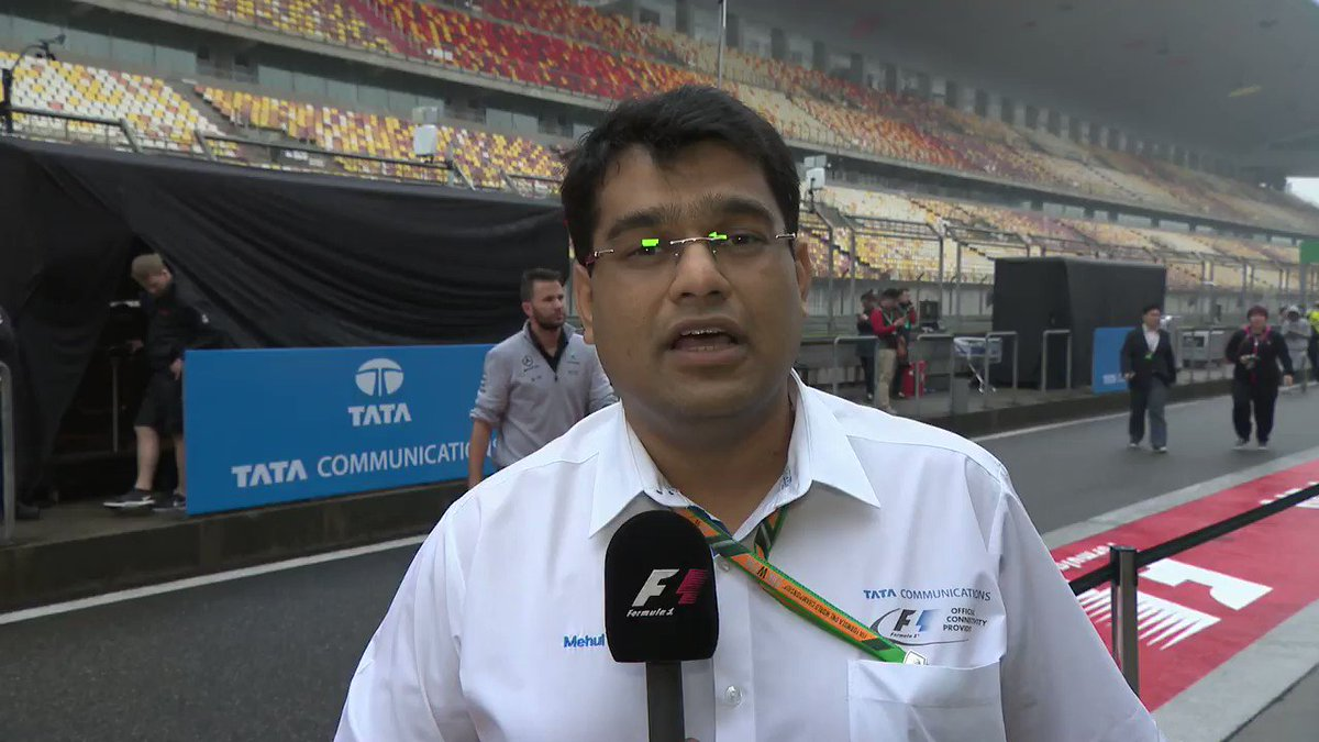 It's here! We're celebrating our #100GP with @mehulkapadia at #ChineseGP. #SpeedToLead