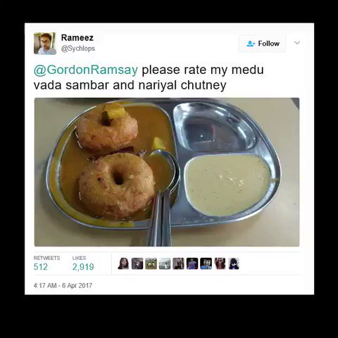 this compilation video of gordon ramsay roasting people's cooking on twitter is everything 💀😂