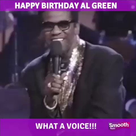Happy Birthday to The Reverend Al Green!