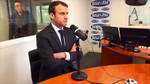Un radical devient un type bien pour ratisser des voix ? #Macron n'est plus Charlie ? #MohamedSaou #BeurFM