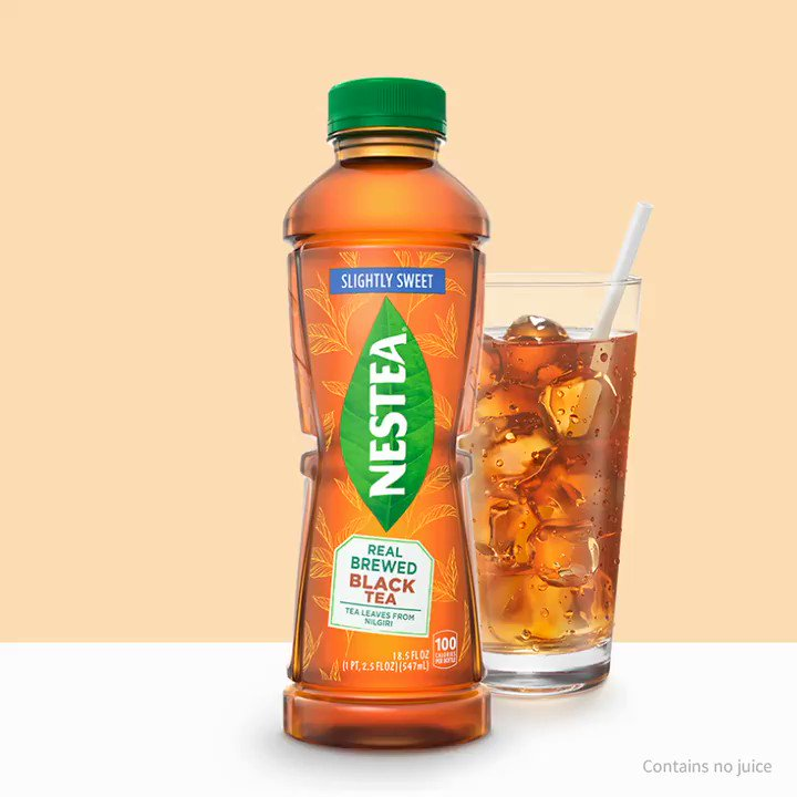 Slightly sweet, and we're slightly obsessed with this real-brewed tea. Discover all the #NewNESTEA flavors at https://t.co/4AVgVsivHe https://t.co/6QSleMirNX