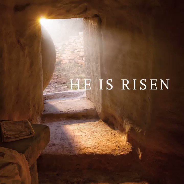 He can lift the heaviest heart. He can brighten the darkest day. Hope lives because He does.  #PRINCEofPEACE #Easter https://t.co/eA9HIeeLWZ