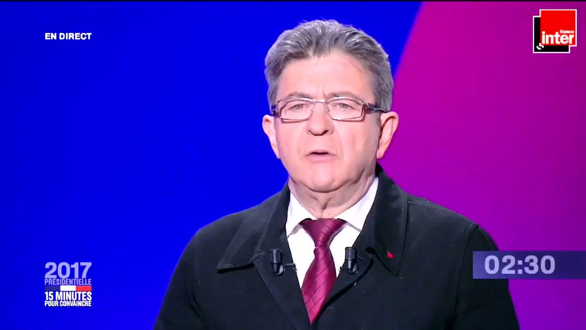 #15MinutesPourConvaincre : La conclusion de Jean-Luc Mélenchon