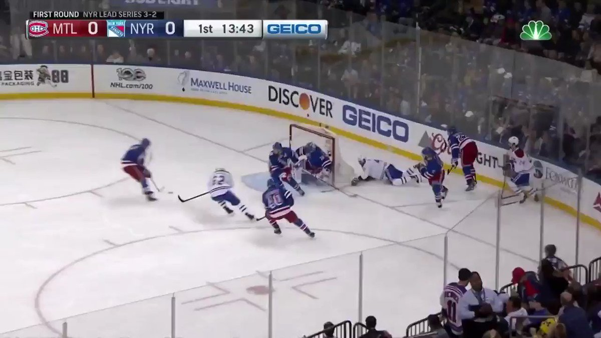Emelin strikes first for the Habs! #StanleyCup   MORE: https://t.co/5D...