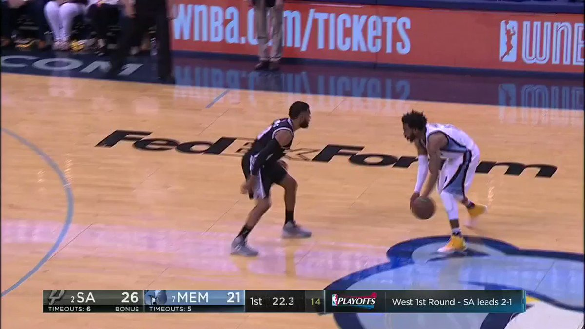 Mike Conley is very crafty. @ESPNNBA https://t.co/6WszKux5Q0