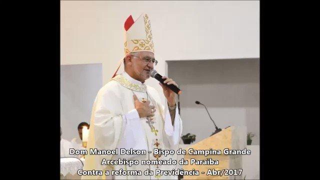 Ouça! Arcebispo da Paraíba grava mensagem convocando população para ato do dia 28 Do @PortalParaibaJa
