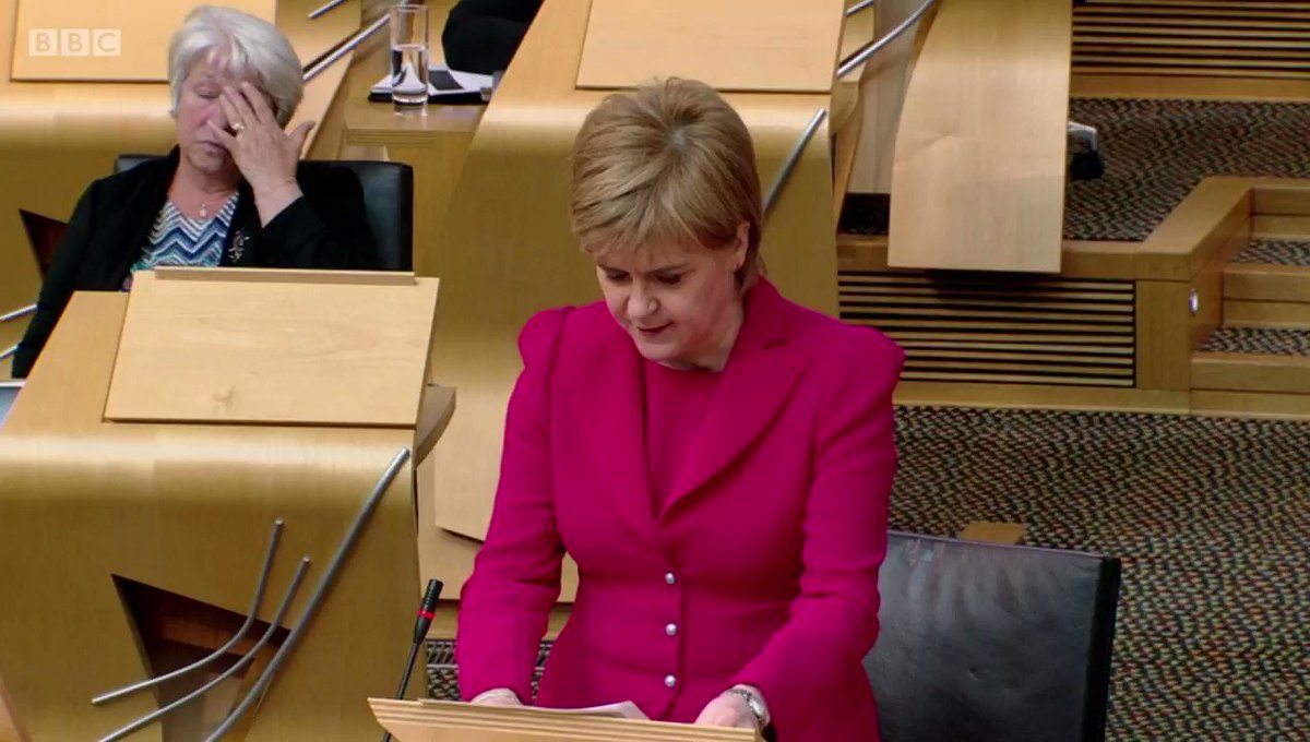 "🎥 @NicolaSturgeon: #rapeclause ""has no place in any civilised society""..."