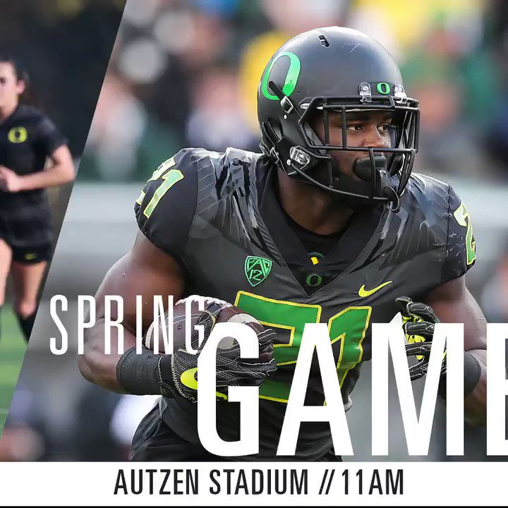 Spend your Saturday with the Ducks, starting with the @OregonFootball...