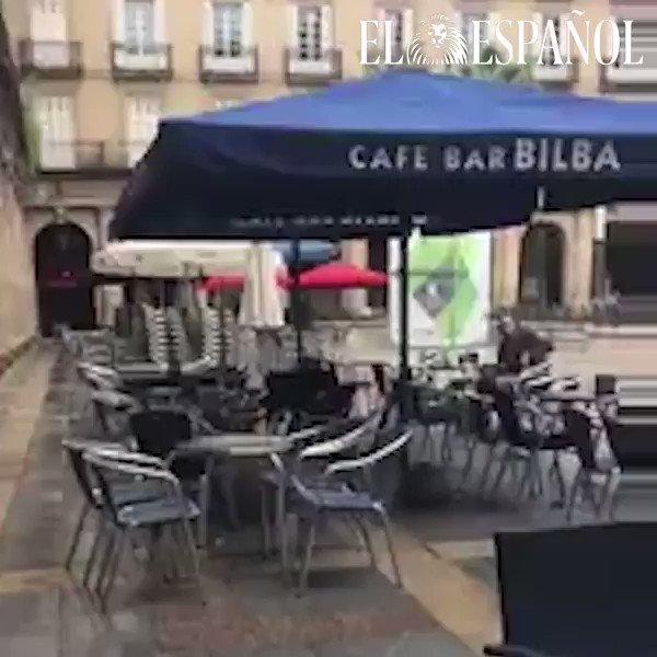 Salvaje agresión de un ultra bético en Bilbao al grito de 'arriba Espa...