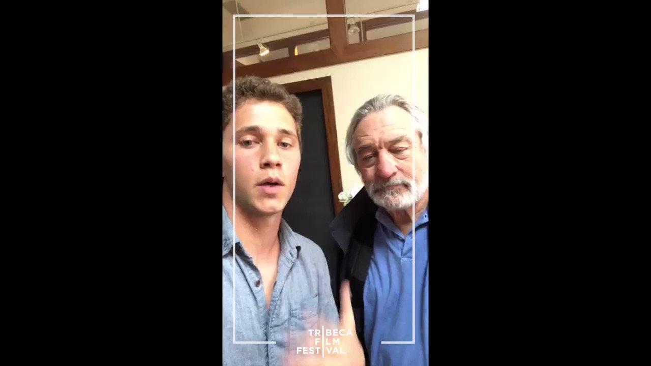 Robert De Niro adorably tries @Snapchat for the first time at 73! WATCH! https://t.co/3PJvAWPzYV https://t.co/mGx4HuNJNn