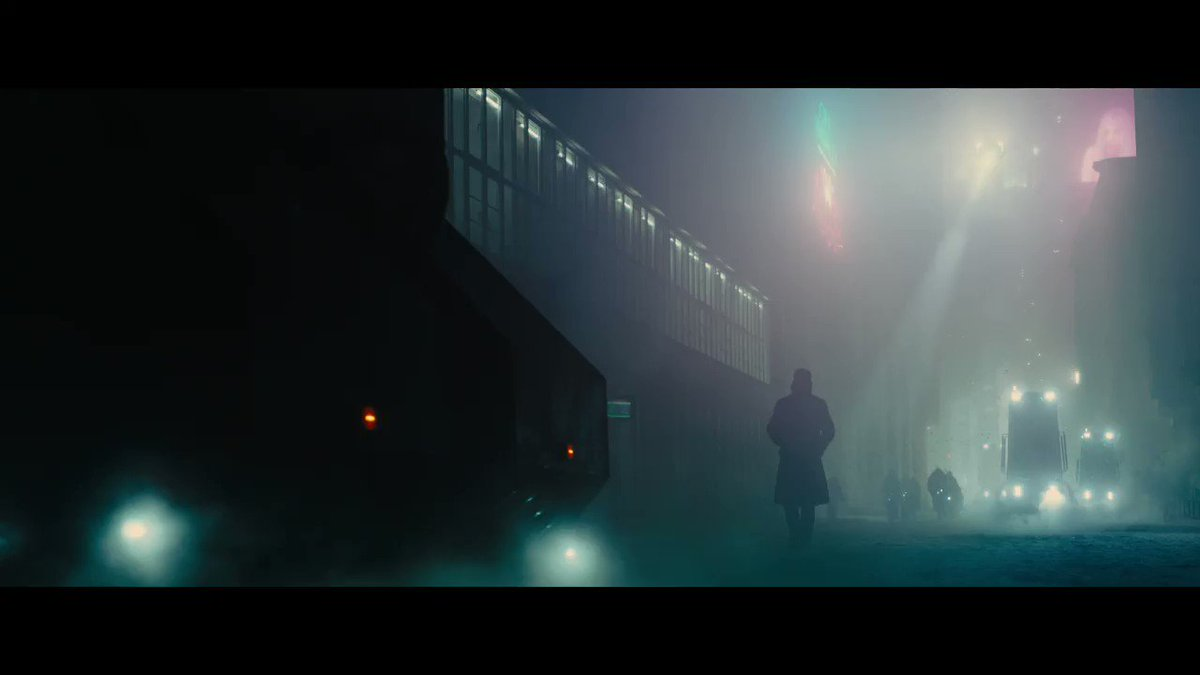 The story is far from over. New trailer Monday. #BladeRunner2049