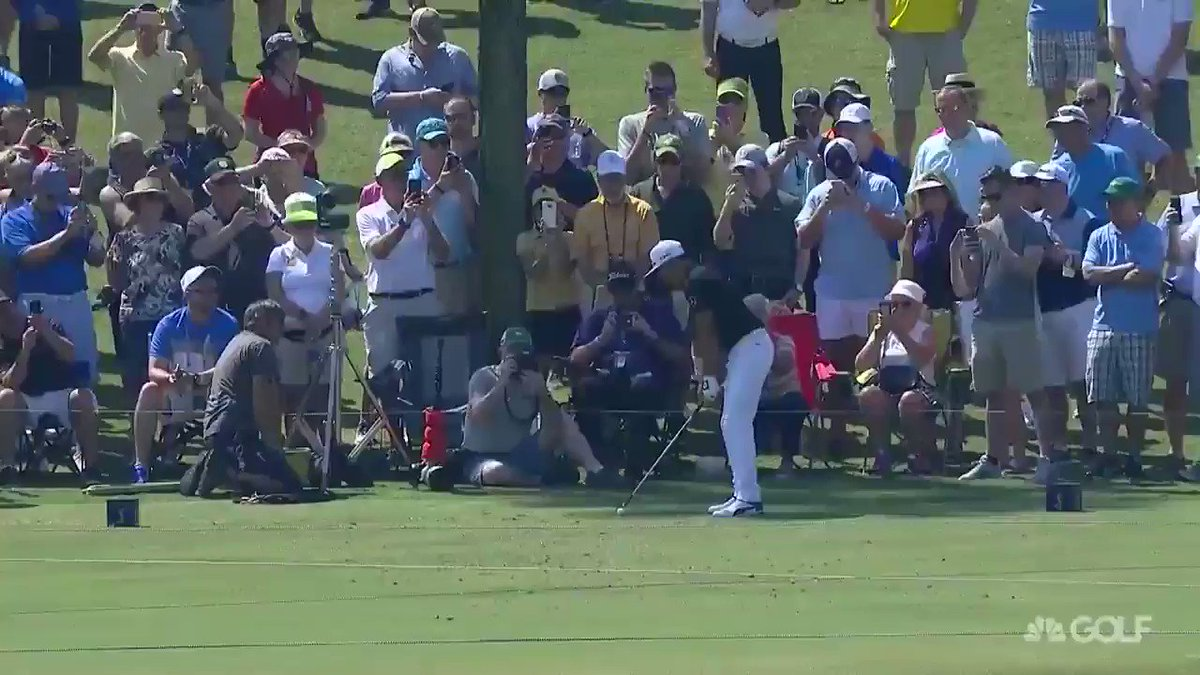 You can't play No. 17 any better than this: @RickieFowler with an ace! @THEPLAYERSChamp